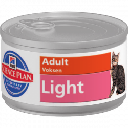 HILLS SP Fe Adult Light Chicken 85 g konzerva